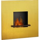 Artepuro Ethanol Kamin Fire Flame - 24-Karat vergoldet