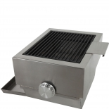 Brennwagen Holzkohle Seitenbrenner für GT800, GT1200