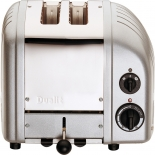 Dualit Toaster Vario New Generation 2-Scheiben - silber metallic