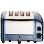 Dualit Toaster Vario New Generation 4-Scheiben - blau metallic