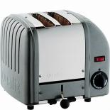 Dualit Toaster Vario 2-Scheiben - silber metallic
