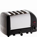 Dualit Toaster Vario 4-Scheiben - schwarz