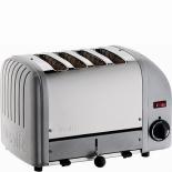Dualit Toaster Vario 4-Scheiben - silber metallic