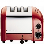 Dualit Toaster Combi 2+1 - rot