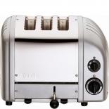 Dualit Toaster Combi 2+1 - silber metallic