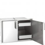 Fire Magic Echelon Einbauschrank mit Schubladen Outdoorküche