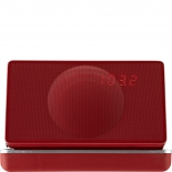 Geneva Model XS Radio Reisewecker Bluetooth - rot