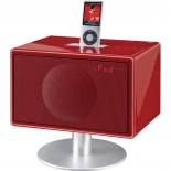 Geneva Model S Soundsystem DAB mit Standfuß - rot