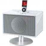 Geneva Model S Soundsystem DAB mit Standfuß -weiß