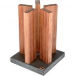 Kai Magnet Messerblock Stonehenge Red Wood