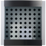 Keilbach Briefkasten glass black-dots