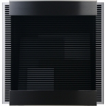 Keilbach Briefkasten glass black-stripes