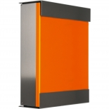 Keilbach Briefkasten glasnost - orange