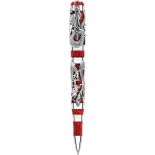 Montegrappa Rollerball Icons Dragon Bruce Lee Silber