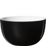 Piet Hein Sch�ssel Opal Glas 26 cm - schwarz