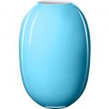 Piet Hein Vase Super Opal Glas 50 cm - aquamarin