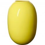Piet Hein Vase Super Opal Glas 50 cm - gelb