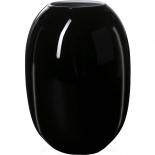 Piet Hein Vase Super Opal Glas 50 cm - schwarz