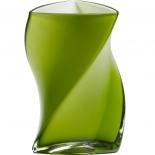 Piet Hein Vase Twister Opal Glas 24 cm - grün