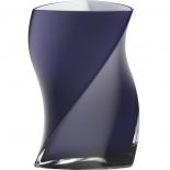 Piet Hein Vase Twister Opal Glas 24 cm - lila