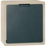 Serafini Briefkasten Concret CQ Sandstein - schwarz