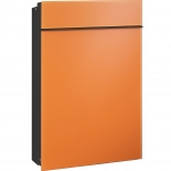 Serafini Briefkasten Flat Glas - orange