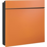 Serafini Briefkasten Flat Wide Glas - orange