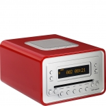 Sonoro Cubo Radio Cd-Player - rot