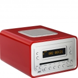 Sonoro Cubo Radio DAB+ Cd-Player - rot