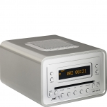 Sonoro Cubo Radio DAB+ Cd-Player - silber