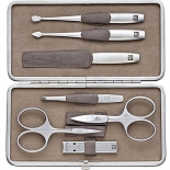 Zwilling Twinox Taupe Manicure Set 7-teilig