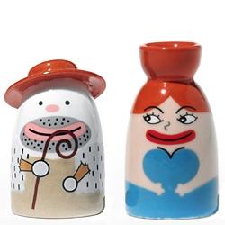 Alessi Weihnachtsfiguren Maria und Josef