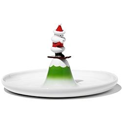Alessi Weihnachts Gebäckplatte Scia Natalino
