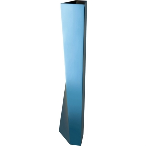 Alessi Vase Crevasse in blau Zaha Hadid
