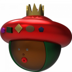 Alessi Weihnachtskugeln Baldassar - Heilige drei Könige