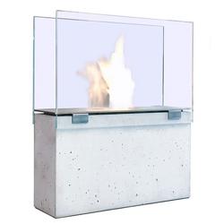 Conmoto Feuerstelle Muro mit Glas