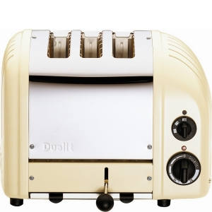 Dualit Toaster Combi 2+1 - creme