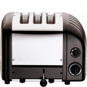 Dualit Toaster Combi 2+1 - schwarz