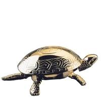El Casco Tischglocke Schildkröte - vergoldet