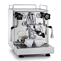 ECM Espressomaschine Mechanika III poliert