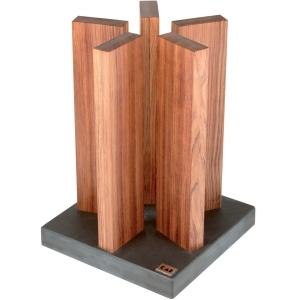 Kai Magnet Messerblock Stonehenge Red Wood aus Red Wood