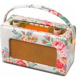 Roberts Radio Cath Kidston RD60 Candy Flowers Stone