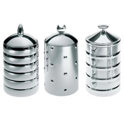 Alessi Küchendose Set Kalisto 1,2 und 3