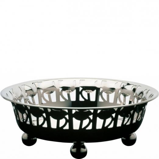 alessi rosenschale versilberte 90001 exquisit24. Black Bedroom Furniture Sets. Home Design Ideas