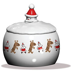 Alessi Weihnachtsdose Let it snow