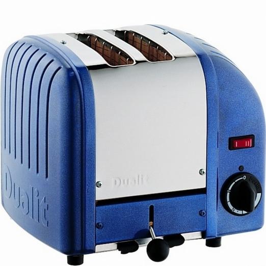 Dualit Toaster Vario 2-Scheiben - blau metallic