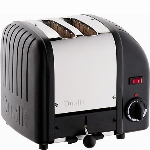 Dualit Toaster Vario 2-Scheiben - schwarz
