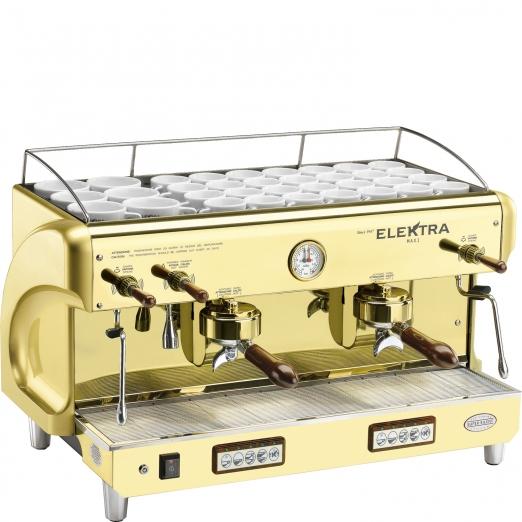 Elektra Espressomaschine Gold Maxi T-G