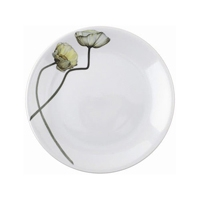 Driade flacher Teller The White Snow Fiori - Set B