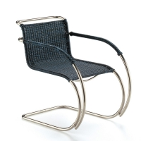 Vitra Miniatur Stuhl MR 20 Wickerwork